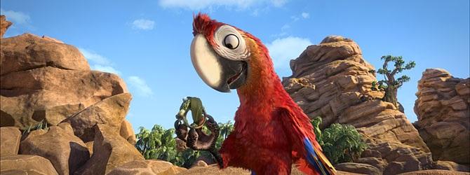 Robinson Crusoe 3D (dub)