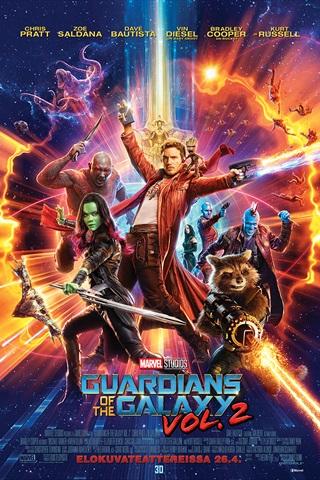 Kuvahaun tulos haulle Guardians of the Galaxy Vol. 2 - 3D finnkino