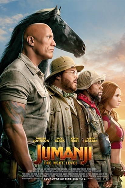 Kuvahaun tulos haulle Jumanji: The Next Level  finnkino