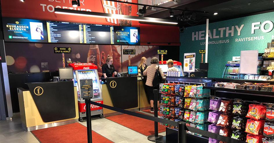 Helsingin Kinopalatsin herkkumyymälä