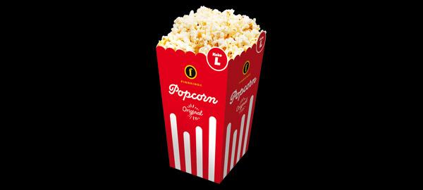Popcorn ennakkoherkku