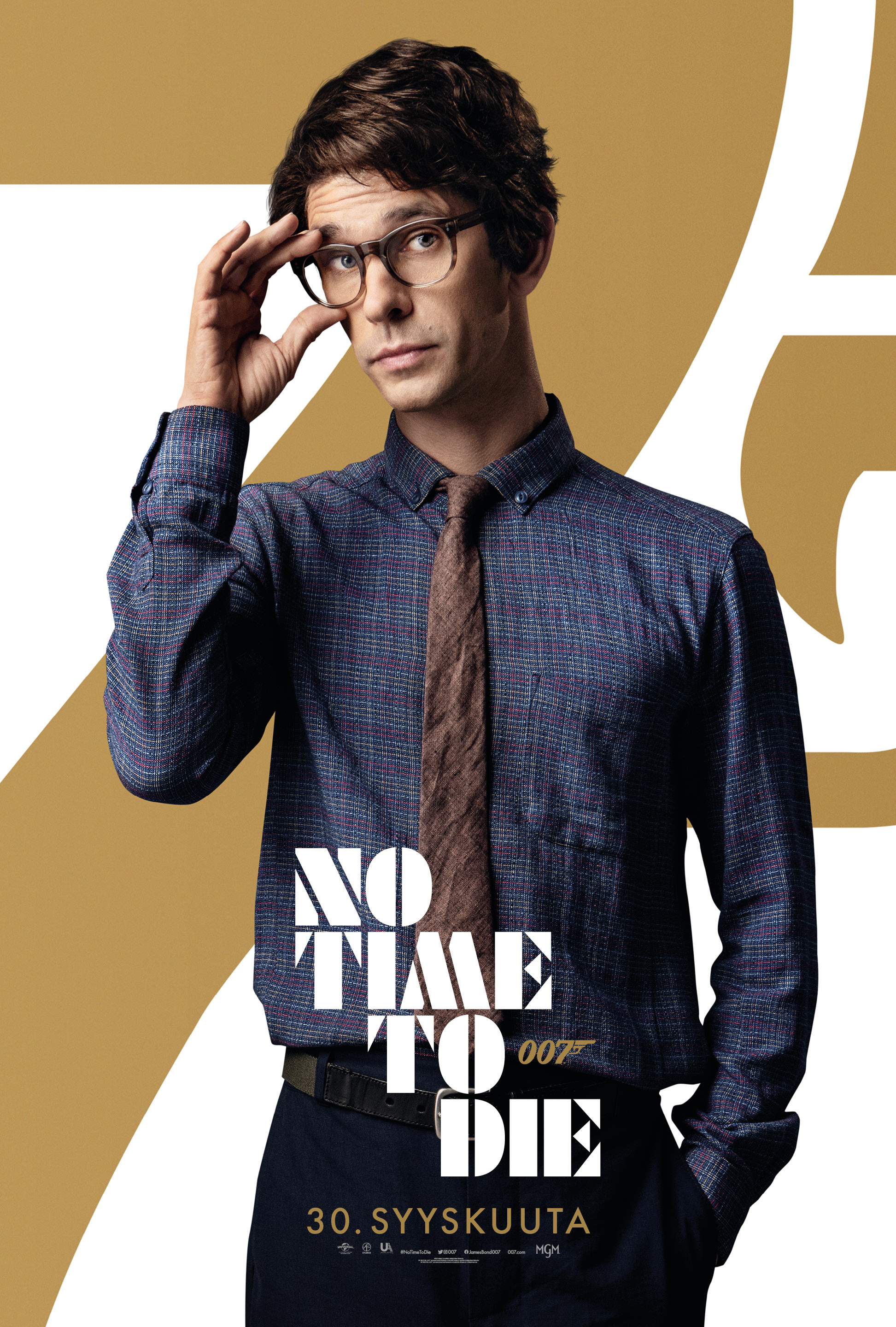 007 No Time to Die - Ben Whishaw
