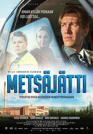 Metsäjätti-elokuva - kaksi yhden hinnalla 15.9. näytöksiin!